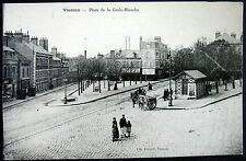 FRANCE ~ 1900's VIERZON ~ Place de la Croix-Blanche  ~ WHITE CROSS