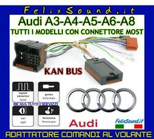 AUDI INTERFACCIA COMANDI AL VOLANTE CANBUS CON CONNETTORE MOST