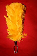 BRITISH ARMY YELLOW FUSILIERS FEATHER HACKLE