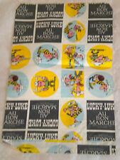 """Vintage French Lucky Luke paper bag """" Au Bon Marché """" 1970s paris"""