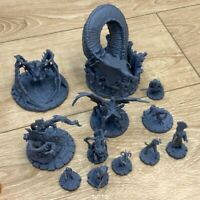 Random 5PCS Dungeons Dragon D&D Cthulhu Wars Role Playing Board Game Miniatures