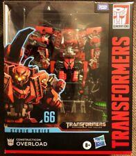 NEW USA HASBRO Transformers Studio Series 66 OVERLOAD Leader Class Constructicon