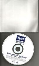 BLOCK Catch A falling Star w/ RARE RADIO MIX PROMO CD Single Perry Como Remake