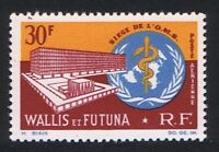 Wallis and Futuna Inauguration of WHO Headquarters Airmail 1966 MNH SG#191