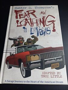 FEAR AND LOATHING IN LAS VEGAS by Troy Little Graphic Novel US Import
