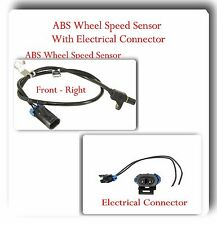 ABS Wheel Speed Sensor w/ Connector Front Right Fits: Chevrolet GMC K2500 K3500