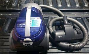LG VC4920NRTB Canister Vacuum Cleaner