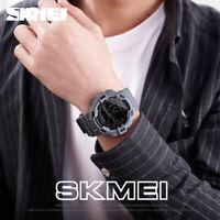 SKMEI MEN'S DENIM DIGITAL SPORT WATCH 2 TIME WEEK DISPLAY 50M WATERPROOF 1472 0