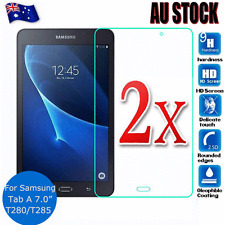 2x Tempered Glass LCD Screen Protector Film for Samsung Galaxy Tab A 6 7.0 inch