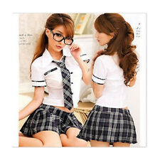 Lingeries Sexy Lady japan high school girl dress uniform women costume outfit