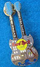 AMSTERDAM DUTCH CANAL HOUSE STREET FACADE BRIDGE DN GUITAR Hard Rock Cafe PIN LE