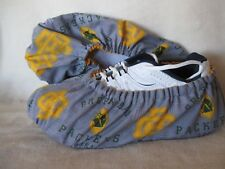 PACKERS last one in this design. Men's fit size 10-12. Cotton, lined, vinyl sole