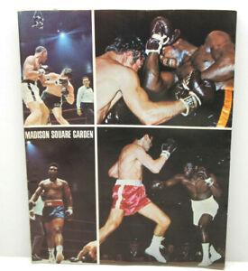 July 26 1971 Madison Square Garden Boxing Program Autographed by Jake Lamotta