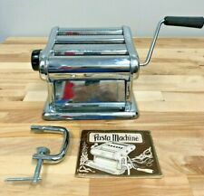 Altea Milano 7 Stainless Pasta Noodle Maker Made in Italy with Manual
