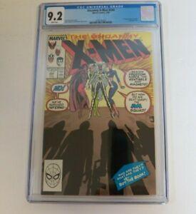 Uncanny X-Men #244 9.2 CGC Marvel Comics 1989 1st appearance of Jubilee