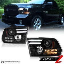 [TRIBAL DESIGN] 2013-2017 2018 Dodge Ram 1500 2500 3500 Dual OLED Tube Headlight