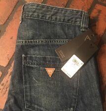 GUESS Womens 1527 Blue Straight Leg Casual Jeans 26 Waist B B