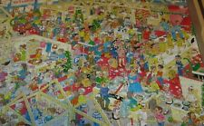 """JAN VAN HAASTEREN 1000 PIECE JIGSAW PUZZLE """"THE WINTER FAIR"""" COLORFUL AND FUN"""
