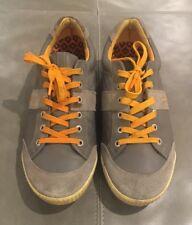 Ecco Street Premiere Gray Orange Golf Shoes 44 10.5 11 $199
