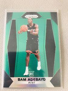 2017/18 Bam Adebayo Panini Prizm Green #51 RC SP MNT PSA BGS? Miami Heats Rookie