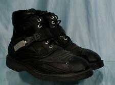 Nice Black Leather JOE ROCKET Big Bang Motorcycle Boots Sz 9 US 7 UK 40.5 EUR