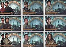 Stargate Atlantis Season 1 Atlantis Crew 9 Card Set C1 - C9