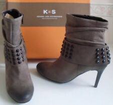KENNEL & SCHMENGER Germany Grey Ankle Boots Size UK 3.5 EU 36 US 5.5   6 RP £255