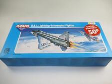 NOVO (ex-Frog) 1/72 Scale Model Aircraft Kit BAC Lightning SEALED Soviet USSR