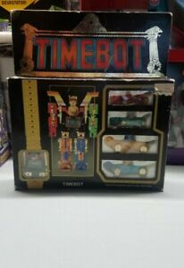 Voltron / Golion Bootleg Watch Timebot unused complete with box Rare 1985