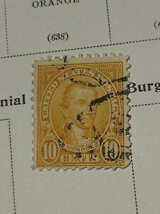 US 1926  Sc# 642 10 c  James Monroe - Vivid Color - Used - #2920