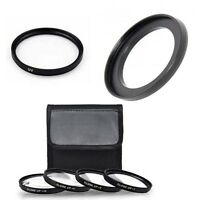 MACRO Close UP Lens Set + UV + Ring for Canon Powershot SX530 HS, SX540 HS,