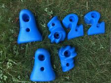6 small rock climbing hand/foot holds (new)