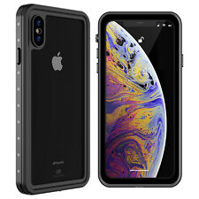 For Apple iPhone XS Max Xs Waterproof Case Cover with Built-in Screen Protector