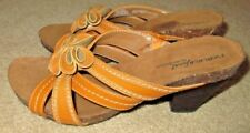 EUC Women Size 7.5 Natural Soul by Naturalizer Eily Curry Spice Heeled Sandal