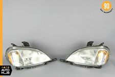 98-01 Mercedes W163 ML430 ML55 AMG Right and Left Headlight Lamp Xenon Set OEM