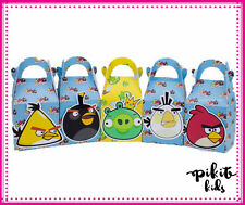 ANGRY BIRDS PARTY FAVOUR BOXES KID BIRTHDAY LOLLY LOOT BAGS SUPPLIES DECORATIONS