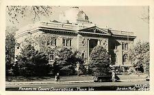 1940s RPPC Postcard; Franklin County Court House, Pasco WA Bryan / Ellis 2860
