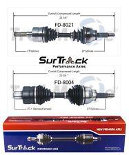 For Ford Explorer Ranger Mercury Mazda B3000 2 Front CV Axle Shafts SurTrack Set
