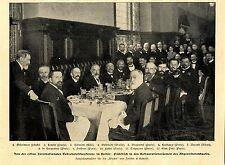 Internationale tuberculose conférence Berlin Geheimrat Fränkel Letulle paris 1902