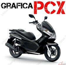 STICKER KITS FOR FAIRING SPECIFIC  HONDA PCX 125 150 RACING  ARGENTO GRAPHICS