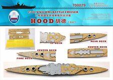 Shipyard 1/700 700029 Wood Deck HMS Hood 1941 for Trumpeter