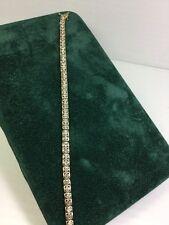 10kt Diamond Tennis Bracelet (J70)