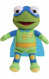 """Muppet Babies The Froginizer Kermit The Frog Stuffed Plush Figure Toy 8"""" NWT"""