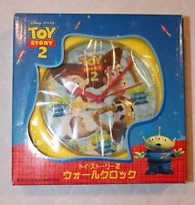 Toy Story Rare SEGA Japanese Clock with 2nd hand!