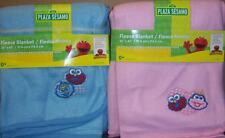 NEW SESAME STREET FLEECE BLANKET, Baby Shower, Elmo, Cookie Monster