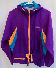 InSport Vintage 80's Spandex Tights And Neon Zip Up Retro Jacket Size Medium