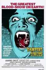Vampire Circus Poster 01 Metal Sign A4 12x8 Aluminium