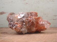Calcite Natural Red Banded Crystal Healing Stone Specimen 1lbs 5oz {U1516EG}