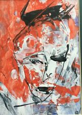 Irish Art – Original John kingerlee  - head, mixed media