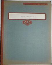 Documentation rack d'alimentation RK 886 -  Les débuts de CRC